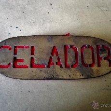 Militaria: DISTINTIVO DE CELADOR CREO QUE ES DE CELADOR DE MONTES. Lote 163003217