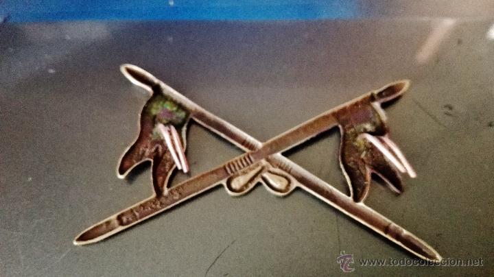 Militaria: LANZAS DE CABALLERIA,EN LATON,AÑOS 40? - Foto 3 - 84623798