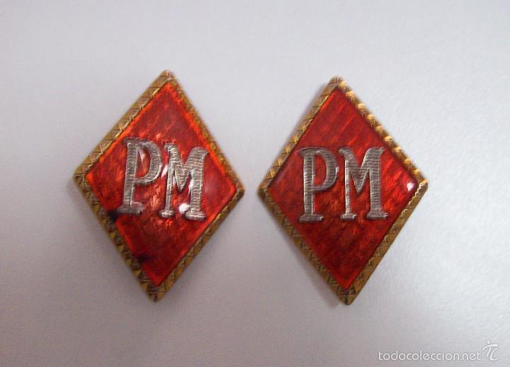ROMBOS POLICIA MILITAR (Militar - Insignias Militares Españolas y Pins)