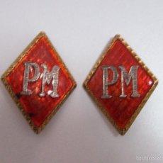 Militaria: ROMBOS POLICIA MILITAR. Lote 55802449