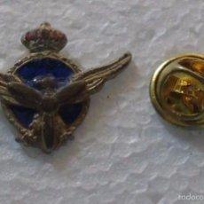 Militaria: ANTIGUO PIN INSIGNIA MILITAR. AVIACIÓN CIVIL. PILOTO. Lote 56191523