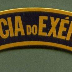 Militaria: PORTUGAL PORTUGUESE INSIGNIA SHOULDER BADGE POLICIA DO EXERCITO AÑOS 70-80. Lote 56487263