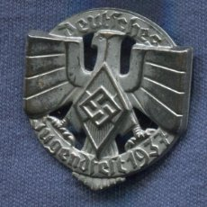 Militaria - Alemania III Reich. Insignia de las Hitlerjugend. Jugendfest 1937. - 56655694