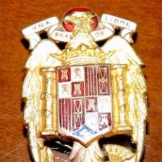 Militaria: AGUILA POLICIA ARMADA DE GALA , PARA GORRA DE PLATO GRIS, 5 X 3 CTMS., AGUILA SAN JUAN, ESMALTADA, A. Lote 56713026