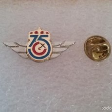 Militaria: PIN LOGO 75 ANIVERSARIO DEL EJERCITO DEL AIRE ESPAÑOL. Lote 56969510