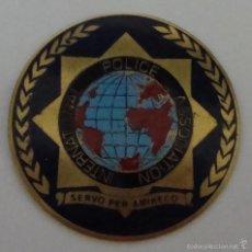 Militaria: (TC-135) PLACA INTERNACIONAL POLICE ASSOCIATION. Lote 202250245