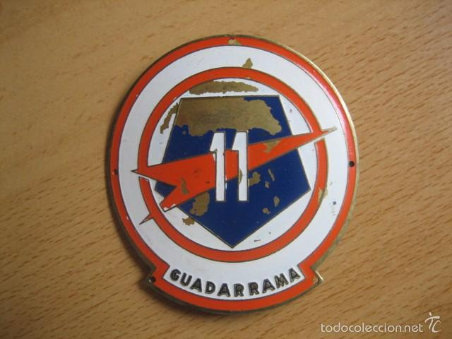 EMBLEMA DIVISIÓN EXPERIMENTAL PENTÓMICA GUADARRAMA Nº 11. (Militar - Insignias Militares Españolas y Pins)