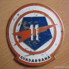 Militaria: EMBLEMA DE BRAZO METÁLICO DIVISIÓN EXPERIMENTAL PENTÓMICA GUADARRAMA Nº 11.. Lote 57025866