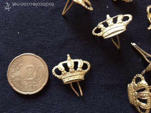 Militaria: Lote 16 coronas ALFONSO XIII - Foto 2 - 57122542
