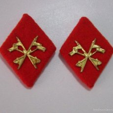 Militaria: ROMBOS CABALLERIA PAÑO. Lote 57285469