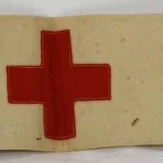 Militaria: BRAZALETE DE LA CRUZ ROJA EN TELA. GUERRA CIVIL ESPAÑOLA. 1936-1939. . Lote 57449109