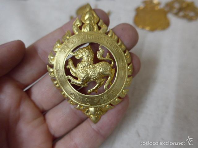 Militaria: Gran antiguo lote de 20 medallas y insignias extranjeras, variedad, hay de raras, medalla, insignia - Foto 15 - 57609837