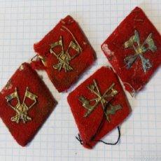 Militaria: LOTE DE 4 ROMBOS DE CABALLERÍA. Lote 57750238