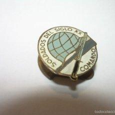 Militaria: ANTIGUA INSIGNIA....SOLDADOS DEL SIGLO XX.....COMANDO. Lote 57837213