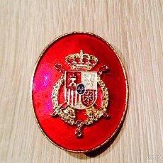 Militaria: ESTUPENDO Y NUEVO DISTINTIVO DE PERMANENCIA DE LA CASA REAL DE FELIPE VI- GENIAL ESMALTADO. Lote 144220728