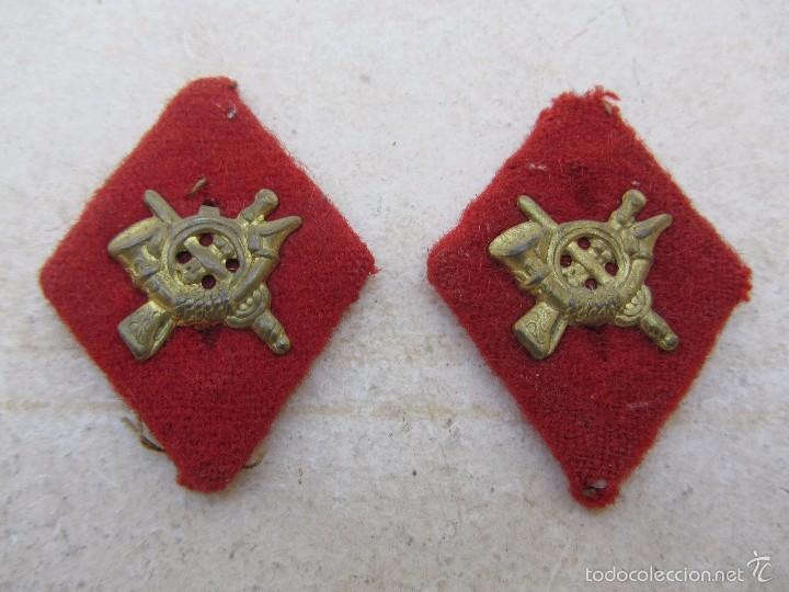 Militaria: Pareja de Rombos Militares - Foto 3 - 57873094