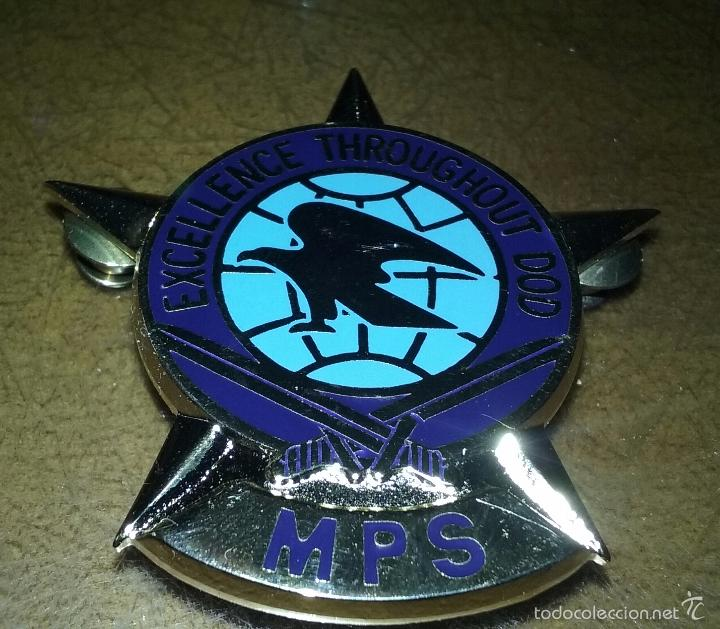 Militaria: US ARMY. NAVY . MARINES. USAF.GRAN DISTINTIVO DEL MILITARY POSTAL SERVICE. - Foto 3 - 58105306