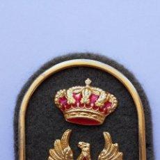 Militaria: INSIGNIA MILITAR AGUILA CON CORONA DE 6,2 X 4,8 CMS. Lote 58468554