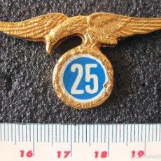 Militaria: INSIGNIA DE LOS 25 SALTOS DE LA BRIGADA PARACAIDISTA. Lote 58524011