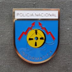 Militaria: DISTINTIVO POLICIA NACIONAL SERVICIO DE INFORMATICA. Lote 114681676