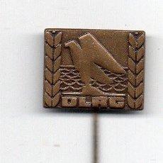 Militaria: INSIGNIA TIPO ALFILER D.L.R.G SALVAMENTO MARITIMO 2ª GUERRA MUNDIAL -ALEMANIA. Lote 58693936