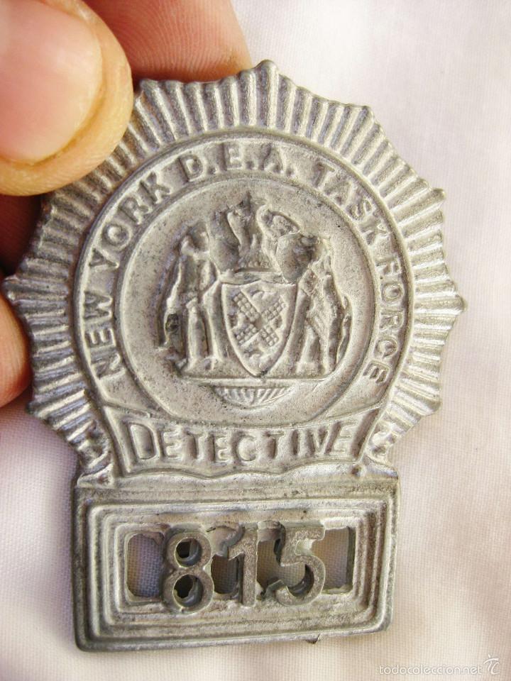 Placa policia dea nueva york task force detecti - Sold through
