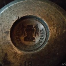 Militaria: TROQUEL DE BOMBEROS ZAPADORES DE INGENIEROS ALFONSO XIII-REPUBLICA,IDEAL PISAPAPELES. Lote 60619963