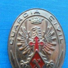 Militaria: PLACA GUARDIA CIVIL TRAFICO. Lote 60722990