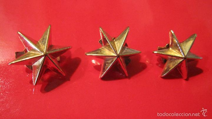 Modernas Tres Estrellas De Seis Puntascolor Vendido En Venta