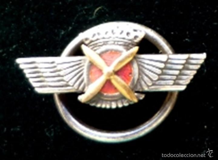 Militaria: EMBLEMA AVIACIÓN ÉPOCA FRANCO ROKISKI - Foto 2 - 61274287