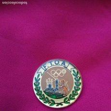 Militaria: CHAPA LACADA FEDERACION TIRO OLIMPICO ALAVA F.T.O.A.. Lote 61615892