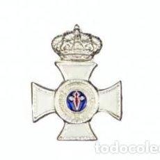 Militaria: PIN A LA CONSTANCIA EN EL SERVICIO CATEGORIA DE PLATA (25 AÑOS). Lote 61765664