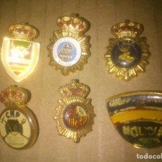 Militaria: COLECCION DE PINS DE CUERPO NACIONAL DE POLICIA INSIGNIA. Lote 62161012