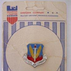 Militaria: INSIGNIA MILITAR USAF- MANDO DE COMBATE AÉREO. Lote 62338336