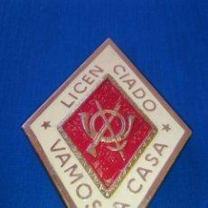 Militaria: PLACA LICENCIADO INFANTERIA. Lote 62735006