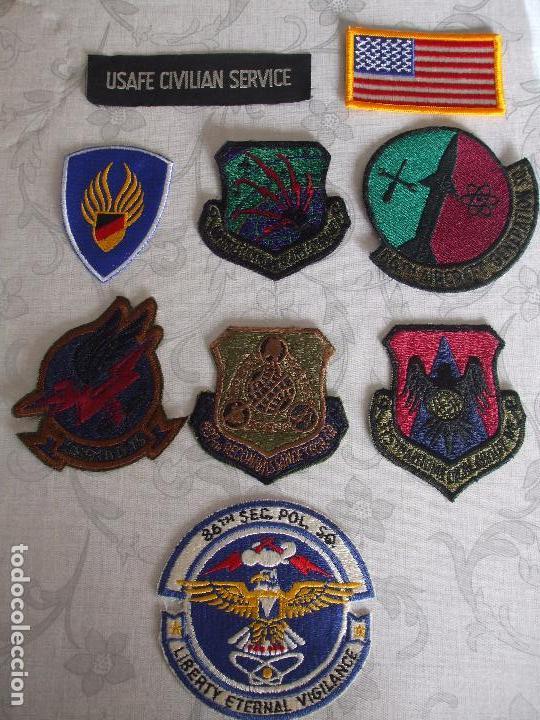 ANTIGUOS PARCHES MILITARES USAF (Militar - Insignias Militares Extranjeras y Pins)