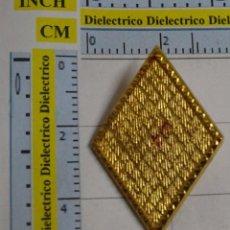 Militaria: INSIGNIA ROMBO MILITAR. SIN DISTINTIVO. SIN DIVISA.. Lote 63981551