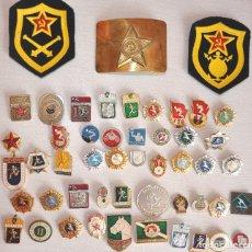 Militaria: LOTE 45 INSIGNIAS SOVIETICAS .URSS. Lote 64442007