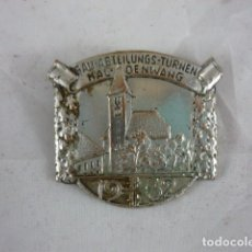 Militaria: INSIGNIA ALEMANA - GAU ABTEILUNGS TURNEN HALDENWANG 1932 - 30X30MM. Lote 64716563