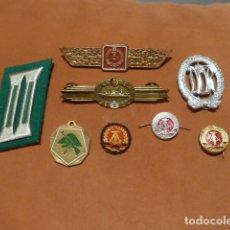 Militaria: LOTE DE INSIGNIA, MEDALLA Y HOMBRERAS DE ALEMANIA COMUNISTA, ORIGINAL, DDR, RDA. Lote 64813611