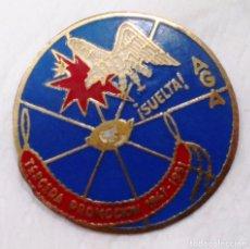 Militaria: EMBLEMA 3ª PROMOCIÓN AGA, AVIACIÓN,EJÉRCITO AIRE. Lote 66104194