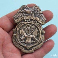 Militaria: PLACA POLICIA - MILITARY POLICE - UNITED STATES ARMY. Lote 66253650