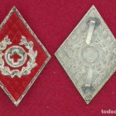Militaria: PAR DE ROMBOS TROPAS DE SOCORRO. Lote 159017216