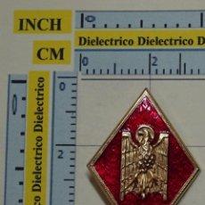 Militaria: ROMBO INSIGNIA MILITAR. TRANSICIÓN POLICIA ARMADA A POLICIA NACIONAL. AÑOS 70 80. Lote 67278833