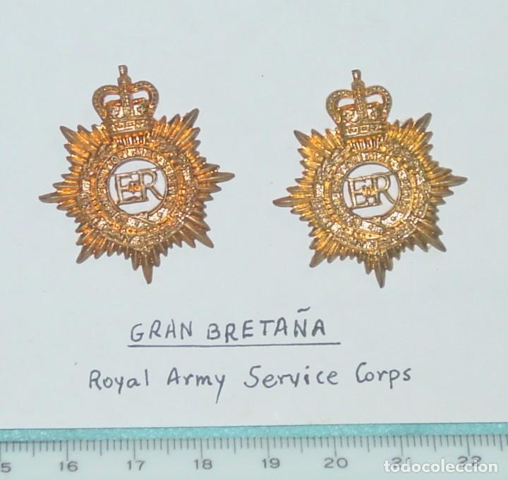 Emblema Ingles Gran Bretaña Comprar Insignias Militares