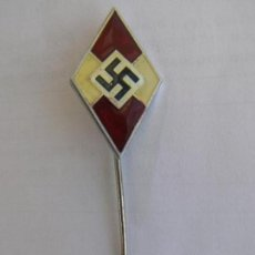 Militaria: SVASTICA. INSIGNIA NAZI. AÑOS 40. ORIGINAL. Lote 67811505