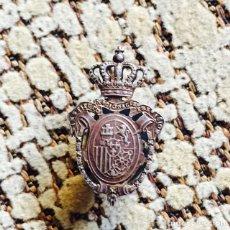 Militaria: ANTIGUO OJAL DE PLATA MILITAR. Lote 67835667