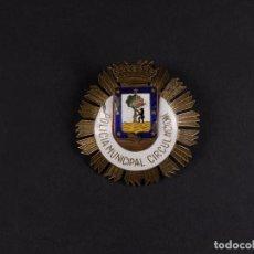 Militaria: INSIGNIA POLICIA MUNICIPAL DE CIRCULACION DE MADRID. Lote 68011769
