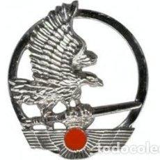 Militaria: EXCELENTE EMBLEMA PARA BOINA EADA EN METAL CON ENGANCHE DE ROSCA. Lote 98973978