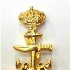 Militaria: ESTUPENDO DISTINTIVO DE BUCEADOR DE COMBATE DE LA ARMADA ESPAÑOLA-INCLUYE CAJA. Lote 153710385